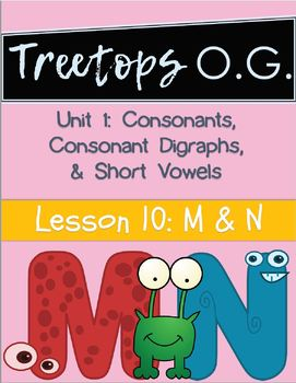 Orton Gillingham Lessons M and N (nasal sounds)