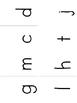Orton-Gillingham Level 1 INDIVIDUAL Size Sound Cards (c-qu)