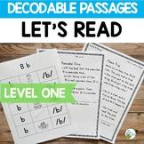 Orton-Gillingham: Level 1 Decodable Reading Passages   Vir
