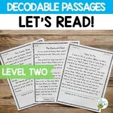 Orton-Gillingham Based Stories Level 2 Decodable Reading Passages