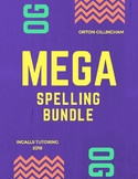 Orton-Gillingham MEGA Spelling Rules and Generalizations BUNDLE