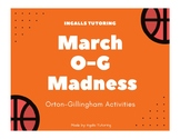 March Orton-Gilligham Madness Basketball Themed Activities