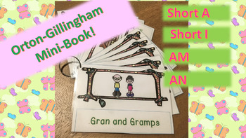 Orton-Gillingham Mini Book Gran and Gramps