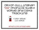 Orton Gillingham OG First Grade Sight Words
