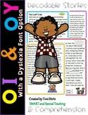 Orton-Gillingham OI & OY  Decodable Stories Level 2 Unit 1