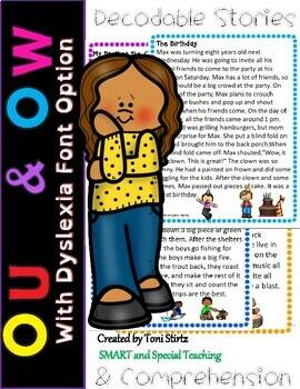 Orton Gillingham OW & OU  Decodable Stories Level 2 Unit 14 Intervention RTI
