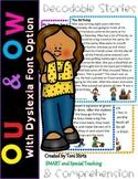 Orton Gillingham OW & OU  Decodable Stories Level 2 Unit 1