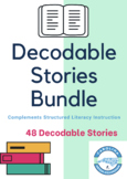 27 Decodable Phonics Stories & Running Record Forms: {Orton Gillingham Bundle!}