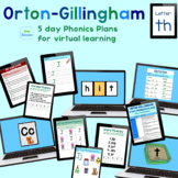 Orton-Gillingham Phonics Lesson for Distance Learning / Se