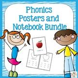 Orton-Gillingham Phonics Notebook and Poster Bundle