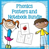 Orton-Gillingham Phonics Notebook and Poster Bundle