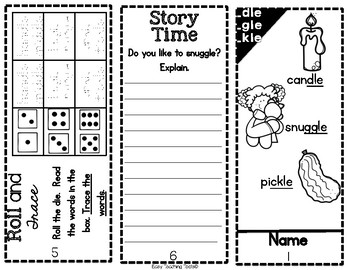 Orton Gillingham Phonics Pamphlets (ar, le, and oo pattern)