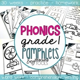 Orton Gillingham Phonics Pamphlets for the Entire Year