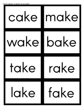 Orton Gillingham Phonics Word Cards [Flash Cards] Level 2