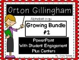 Growing Bundle # 2, Orton Gillingham Alphabet c-qu, Kindergarten