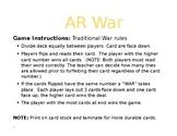 Orton Gillingham R-Controlled War - AR