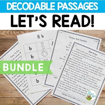Orton-Gillingham Decodable Stories BUNDLE Reading Passages