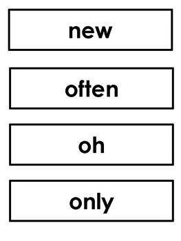 Orton Gillingham Red Word List