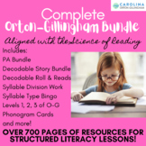 Orton-Gillingham: Complete Bundle {Levels 1, 2, & 3} 360 Pages!