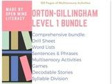 Orton-Gillingham Resources Level 1 Bundle