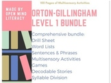 Orton-Gillingham Resources Level 1 Bundle