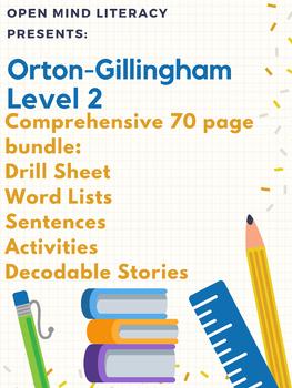 Orton-Gillingham Resources Level 2 Bundle: Phonics Pack