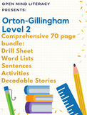 Orton-Gillingham Resources Level 2 Bundle: Phonics Pack