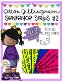Orton Gillingham Sentence Strips [Fluency] Level 2