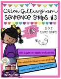Orton Gillingham Sentence Strips [Fluency] Level 3