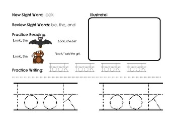 Orton Gillingham Sight Words: The First 100
