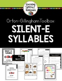 Orton Gillingham Silent-E Syllable Phonics Teaching Bundle
