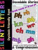 Orton Gillingham Silent Letters Decodable Reading Passages  (wr, kn, gn, mb)