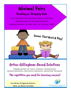 Orton Gillingham Solutions: Doubling vs. Dropping Minimal Pairs