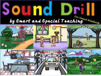 Orton-Gillingham Sound Drill SMARTNOTEBOOK (Phonograms) Dyslexia