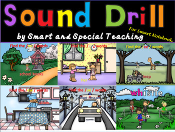 Orton-Gillingham Sound Drill SMARTNOTEBOOK (Phonograms) Dyslexia