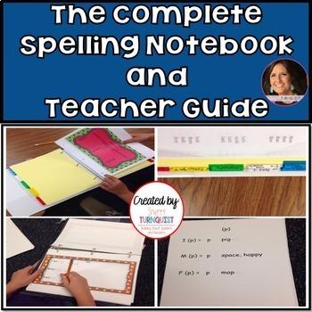 OG Inspired Spelling Notebook {Editable} /Teacher Guide