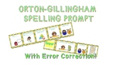 Orton-Gillingham Spelling Prompt (S.O.S)