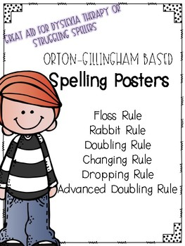 Orton-Gillingham Spelling Rule Posters