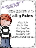 Orton-Gillingham Spelling Rule Posters