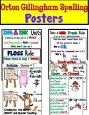 Orton Gillingham Spelling Rule Posters (Barton Inspired)