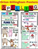 Orton Gillingham Spelling Rule Posters Growing Bundle