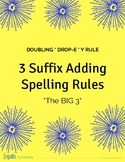 Orton-Gillingham Spelling Rules: The Big 3 Suffix Adding Rules