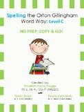 Orton Gillingham Spelling Series:Level C  -  Word Study Units