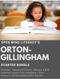 Orton-Gillingham Starter Bundle