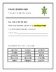 Orton-Gillingham Syllable & Syllable Division Rule Activities: Consonant -le