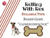 Orton-Gillingham Syllable Type Board Game
