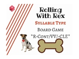 Orton-Gillingham Syllable Type Board Game (Advanced)