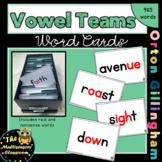 Orton-Gillingham Vowel Team Word Cards
