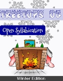 Orton Gillingham Winter Unit: Open Syllables