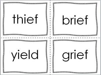 Orton-Gillingham Word Cards Level Three